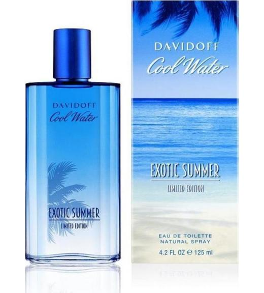 Davidoff Cool Water Exotic Summer Eau de Toilette 125ml