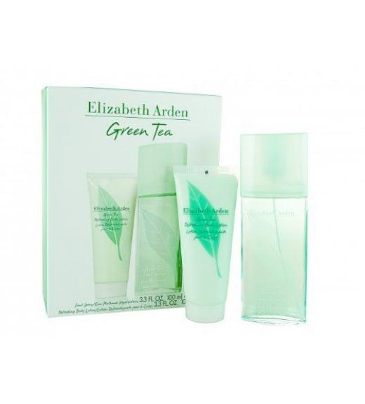 Elizabeth Arden Green Tea Eau De Parfum 100ml & Body Lotion 100ml