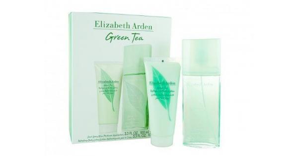 Elizabeth Arden Green Tea Eau De Parfum 100ml & Body Lotion 100ml