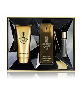 Paco Rabanne 1 Million Gift Set EDT 100 ml shower gel 100 ml 1 Million and miniatures 1 Million EDT 15 ml